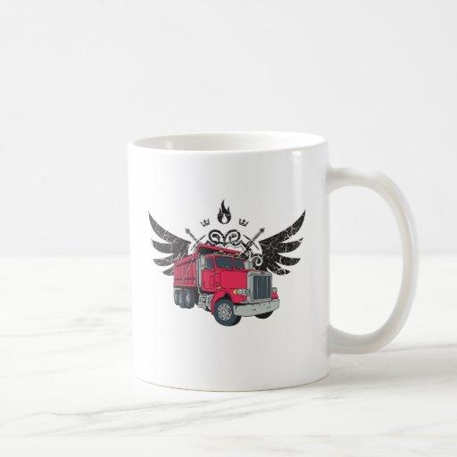 Dump Truck Wings Mugs