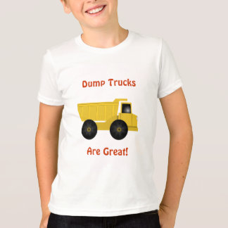 Dump Trucks Are Great Kids T-Shirt