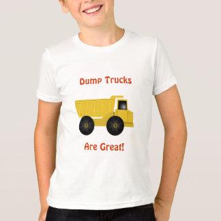 Dump Trucks Are Great Kids T-Shirt