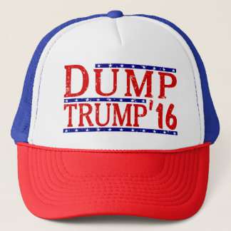Dump Trump 2016 Trucker Hat
