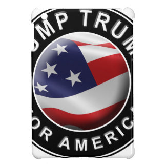 Dump Trump for America Official Logo Cover For The iPad Mini