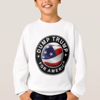 Dump Trump for America Official Logo Sweatshirt