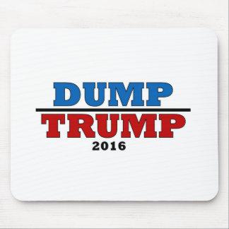 Dump Trump Hillary President 2016 Funny Mouse Pad