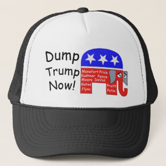 Dump Trump Now Trucker Hat