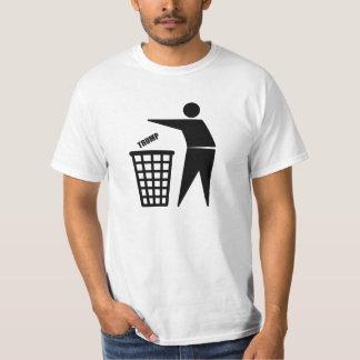 DUMP TRUMP - PITCH IN! T-Shirt