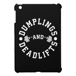 Dumplings and Deadlifts - Funny Workout Cover For The iPad Mini