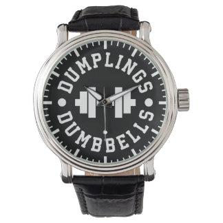 Dumplings and Dumbbells - Bulking - Funny Novelty Watch