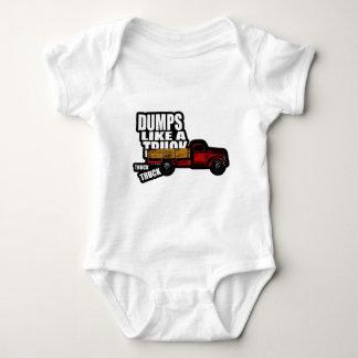 Dumps Like a Truck Baby Bodysuit