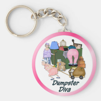 Dumpster Divas Key Ring