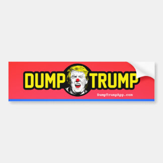 DumpTrump Bumper Sticker