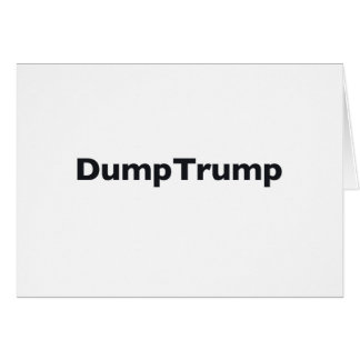 DumpTrump Card