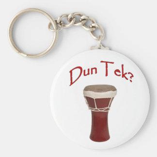 Dun Tek Red Key Ring