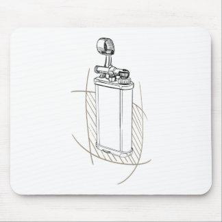 Dun Unique lighter Mouse Pad
