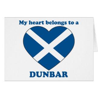 Dunbar Greeting Card