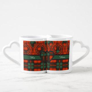 Dunbar clan Plaid Scottish tartan Coffee Mug Set