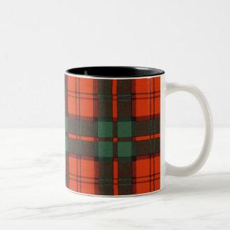 Dunbar clan Plaid Scottish tartan Two-Tone Coffee Mug