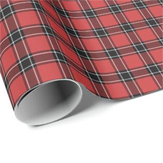 Dunbar Scotland District Tartan Wrapping Paper