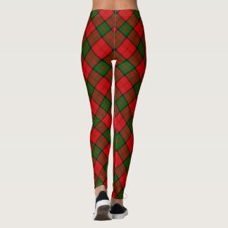 Dunbar tartan plaid leggings