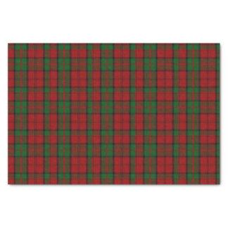 Dunbar Tartan Plaid Tissue Paper