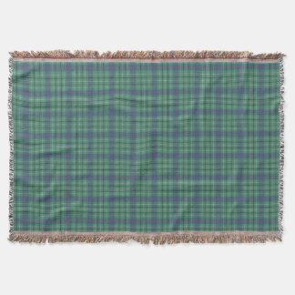 Duncan Clan Ancient Tartan Throw Blanket