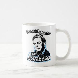 Duncan Hunter is my homeboy Basic White Mug