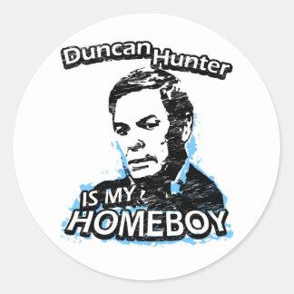 Duncan Hunter is my homeboy Sticker