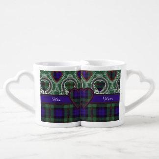 Dundas clan Plaid Scottish tartan Lovers Mug