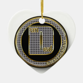 Dundeal Logo Ceramic Heart Decoration