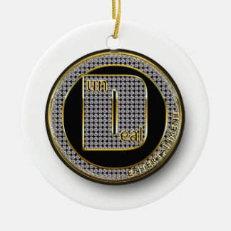 Dundeal Logo Round Ceramic Decoration