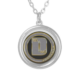 Dundeal Logo Silver Plated Necklace