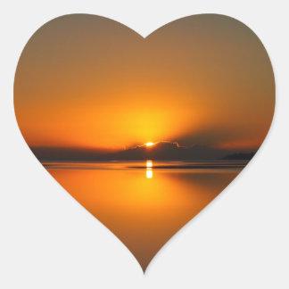 Dundowran Beach sunrise sticker