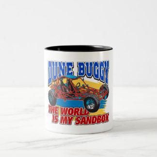 Dune Buggy Sandbox Two-Tone Coffee Mug