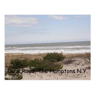 Dune Road II Postcard