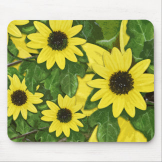 Dune Sunflower Mouse Pad