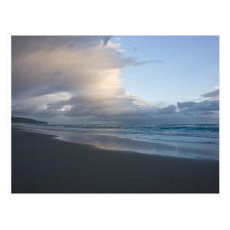 Dunedin Beach at Dusk DSC6544 Postcard
