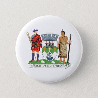 Dunedin Coat of Arms 6 Cm Round Badge