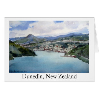 Dunedin, New Zealand Card