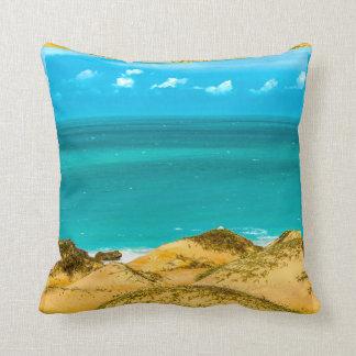 Dunes and Ocean Jericoacoara Brazil Cushion