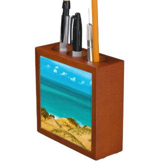 Dunes and Ocean Jericoacoara Brazil Desk Organiser
