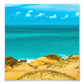Dunes and Ocean Jericoacoara Brazil Photo Print