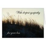 Dunes at Sundown IBSP NJ Sympathy Cards