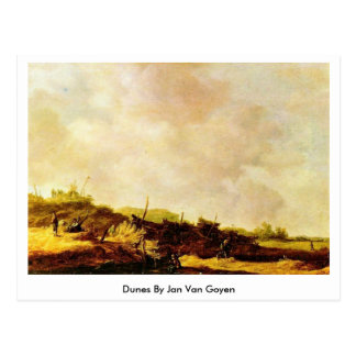 Dunes By Jan Van Goyen Postcard