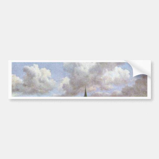 Dunes By Ruisdael Jacob Isaaksz. Van Bumper Stickers