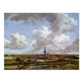 Dunes By Ruisdael Jacob Isaaksz. Van Postcard