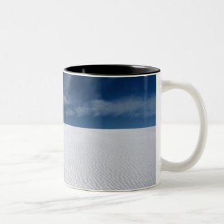 Dunes in White Sands National Monument Two-Tone Coffee Mug