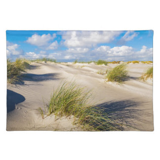 Dunes on the North Sea island Amrum Placemat