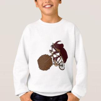 Dung Beetle Riding Bike With Dung Wheel Sweatshirt
