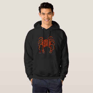 Dungeness Crab (Front & Back) - Hooded Sweatshirt