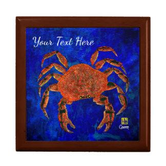 Dungeness Crab - Jewellery Keepsake Box