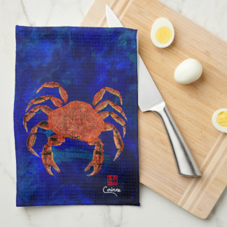 Dungeness Crab - Kitchen Towel